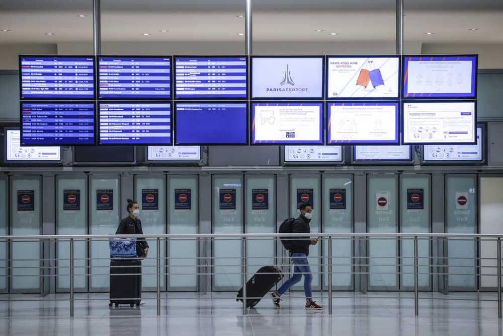 France this week suspended flights from Brazil.